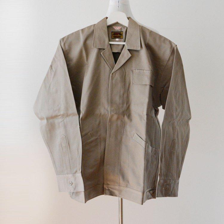 ワークジャケット オープンカラー ジャパンヴィンテージ デッドストック 60〜70年代 | Work Jacket Japan Vintage Deadstock 60〜70s