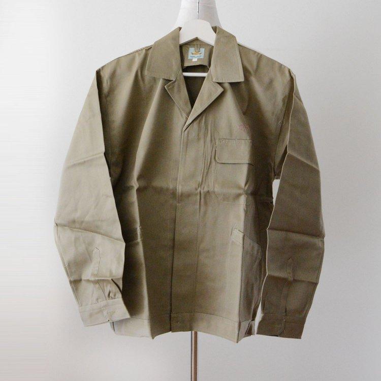 ワークジャケット オープンカラー ジャパンヴィンテージ デッドストック 60〜70年代 特大 | Work Jacket Japan Vintage Deadstock 60〜70s HAYATO