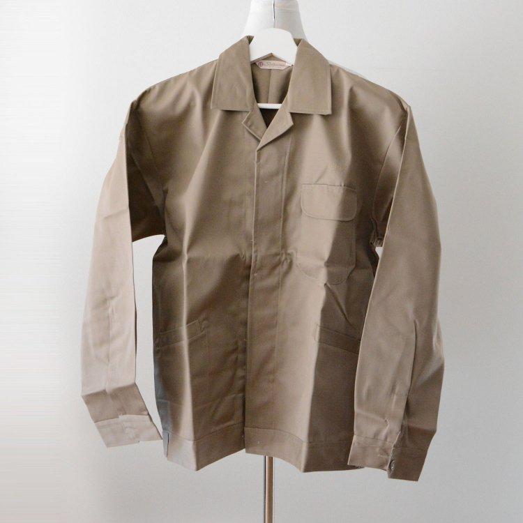 ワークジャケット オープンカラー ジャパンヴィンテージ デッドストック 60〜70年代 LL | Work Jacket Japan Vintage Deadstock 60〜70s Satsuma