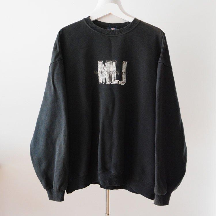 ミチコロンドン スウェット 黒 3L ジャパンヴィンテージ 90年代   MICHIKO LONDON JEANS Vintage Sweat 90s