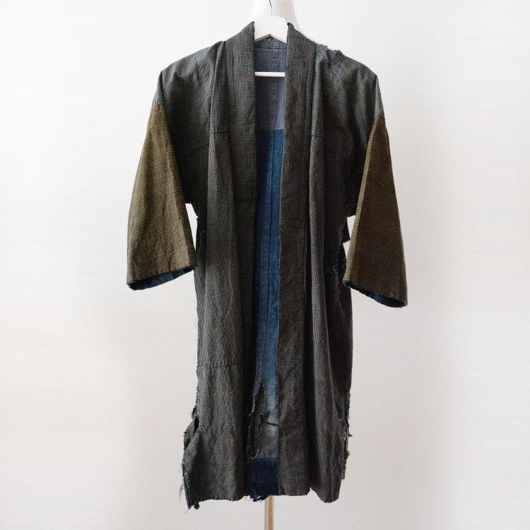 野良着 襤褸 藍染 つぎはぎ ジャパンヴィンテージ クレイジーパターン 大正 | Noragi Jacket Boro Sashiko Indigo Patchwork Japan Vintage