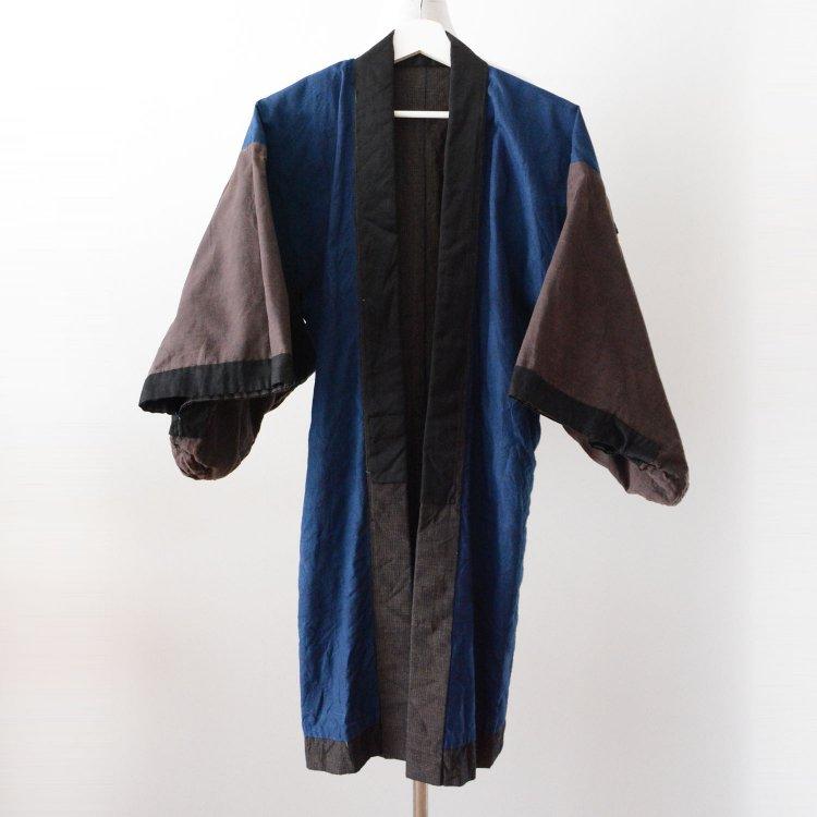 藍染 着物 ジャパンヴィンテージ 大正 昭和   Indigo Kimono Jacket Japan Vintage