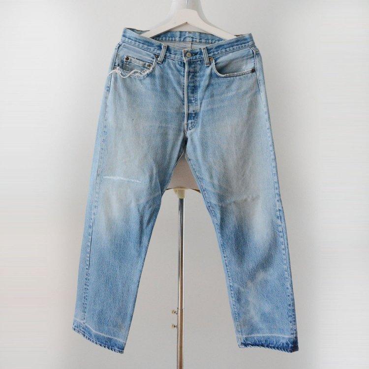 501 リーバイス ヴィンテージ デニムパンツ 紺カン 内股シングル 80年代 | Levi's 80s Vintage Denim Pants Inseam Single