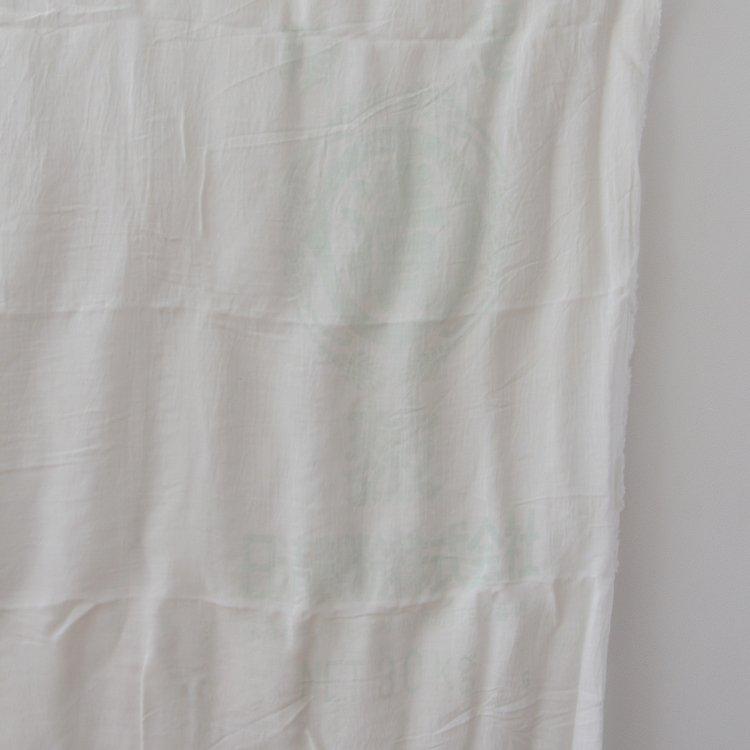 粉袋 古布 解き ジャパンヴィンテージ ファブリック 日清製粉 昭和中期   Japanese Fabric Vintage Kanji Powder Bag Textile Old Cloth