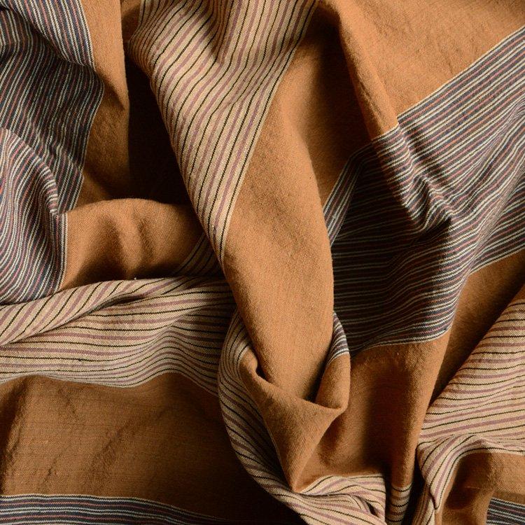 <img class='new_mark_img1' src='https://img.shop-pro.jp/img/new/icons8.gif' style='border:none;display:inline;margin:0px;padding:0px;width:auto;' />風呂敷 古布 木綿 縞模様 ジャパンヴィンテージ ファブリック テキスタイル 昭和中期   Furoshiki Vintage Japanese Fabric Cotton Stripe Wrap