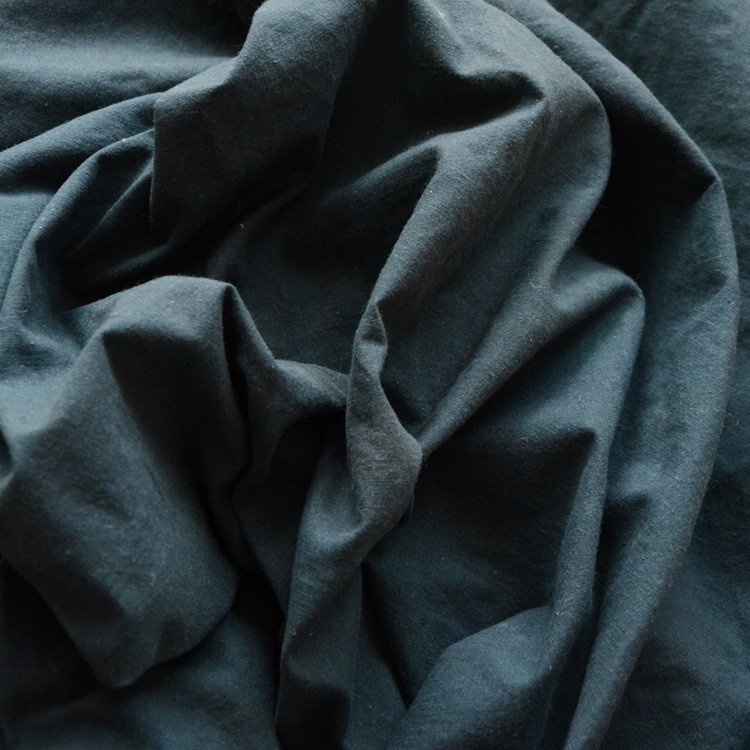 古布 木綿 無地 ジャパンヴィンテージ ファブリック テキスタイル 昭和中期   Japanese Fabric Vintage Cotton Solid Old Cloth