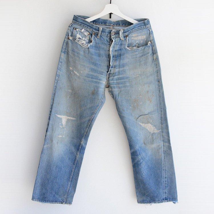 501XX ヴィンテージ リーバイス デニムパンツ ジーンズ 50年代 オリジナル   LEVI'S 50s Vintage Jeans Denim Pants Original