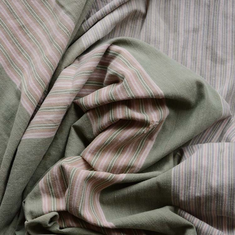 古布 木綿 風呂敷 大判 日焼け ジャパンヴィンテージ ファブリック テキスタイル 昭和 | Furoshiki Vintage Wrapping Cloth Japanese Fabric