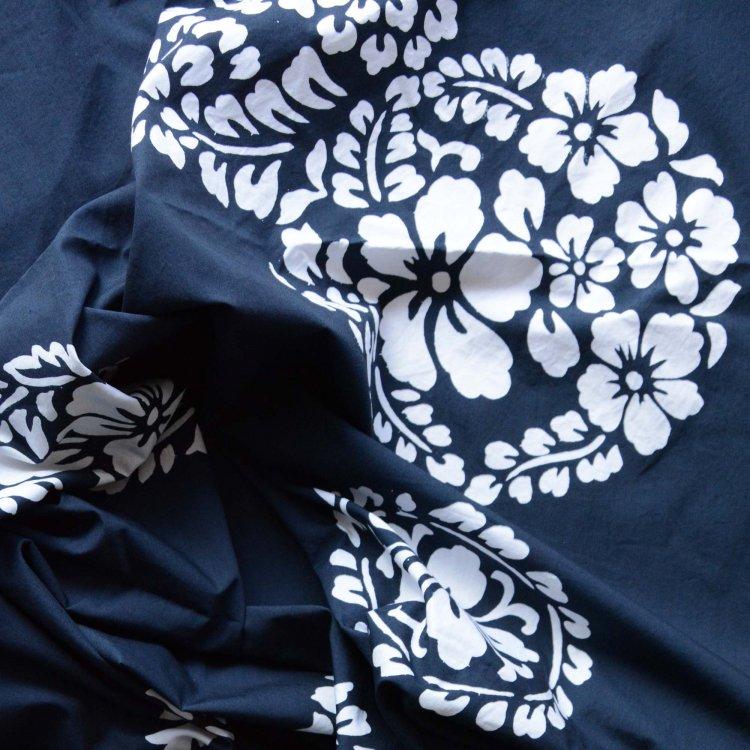 風呂敷 木綿 古布 花柄 ジャパンヴィンテージ ファブリック テキスタイル   Furoshiki Vintage Wrapping Cloth Japanese Fabric Flower