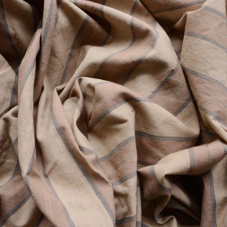 古布 木綿 風呂敷 縞模様 ジャパンヴィンテージ ファブリック テキスタイル 昭和   Furoshiki Vintage Wrapping Cloth Japanese Fabric Cotton
