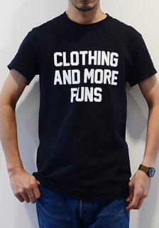 Clothing and more FUNS オリジナル ショップ プリント コットン Tシャツ Original Shop Print Cotton T-Shirt