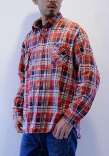 1980年代 ヴィンテージ JC Penney ラウンド コットン プリント フランネル シャツ Vintage Print Flannel Shirt