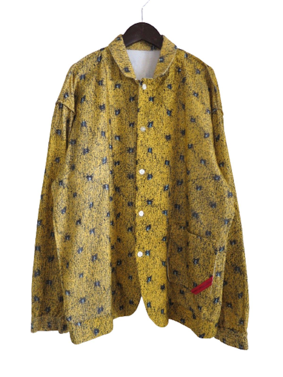 『PHINGERIN』NIGHTシャツ ('19AW/イエロー)