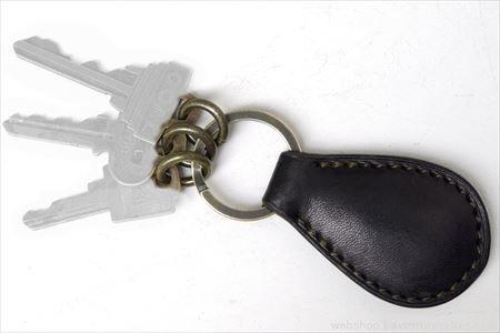 SHREWD Key Ring black / シュルードキーリングブラック