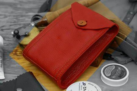 サプルバッグA6レッド / SUPPLE Bag A6 red