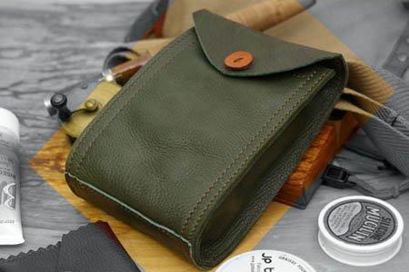 サプルバッグA6グリーン / SUPPLE Bag A6 green
