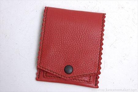 デイリーコインパースレッド / DAILY Coin Purse red