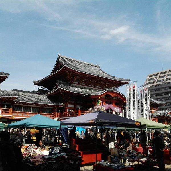 大須観音骨董市の画像