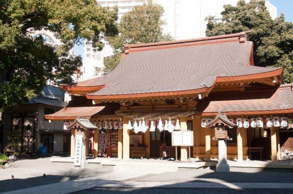 小梳神社のみの市の画像