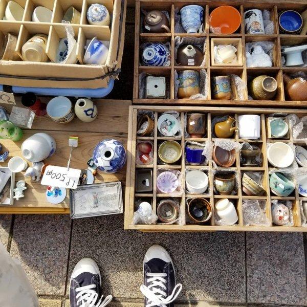 神奈川やまと古民具骨董市の画像