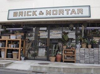 BRICK & MORTARの画像