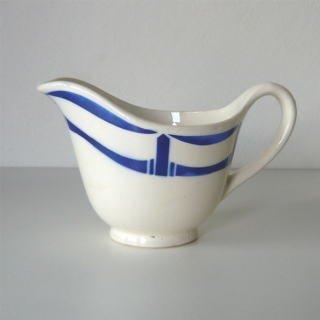 ソースカップ(白×青)の画像