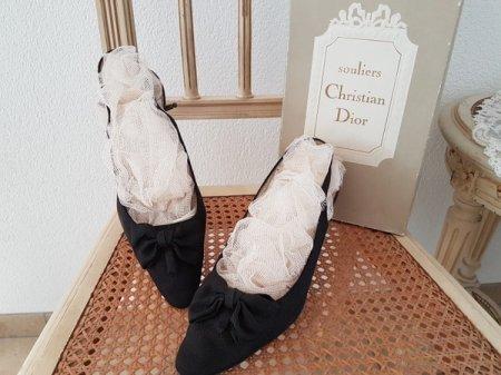 ヴィンテージクリスチャンディオールパンプスの画像