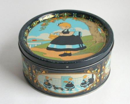 デンマークIrmaちゃんのヴィンテージ缶の画像