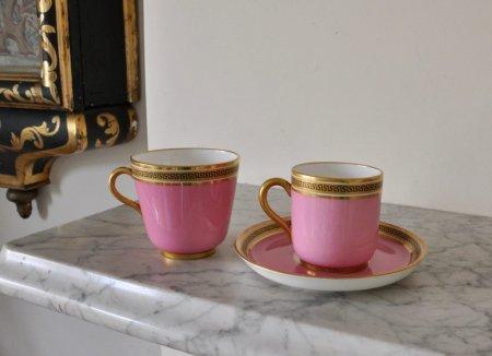 ビクトリアン ティー・コーヒーカップ トリオセットの画像