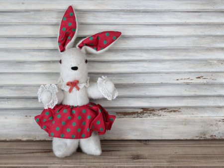 ドット耳の白兎/Frenchの画像