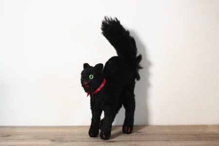 Steiff Black Cat Tom/Germany の画像