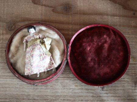 China Head Doll JewelryBox Set/Germanyの画像