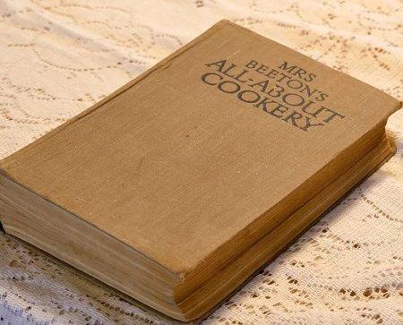 ミセスビートンの オールアバウト クッカリー(お料理の全て)本の画像