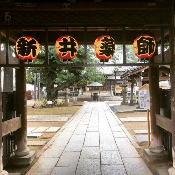 新井薬師骨董市の画像