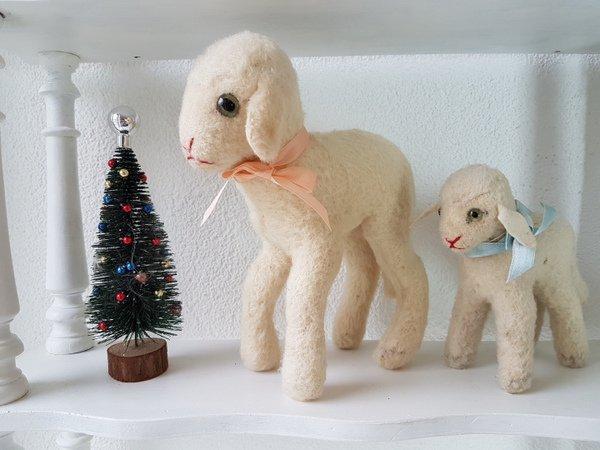 シュタイフ羊の画像