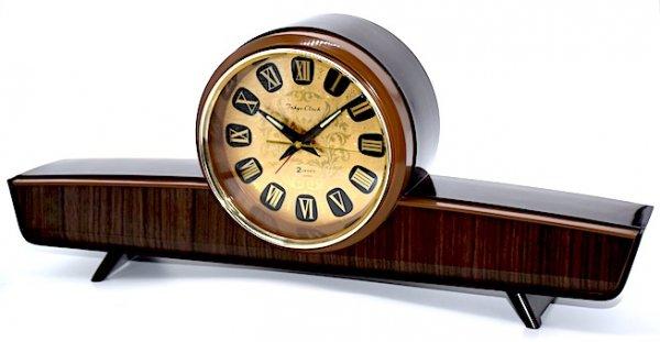 東京時計 飛行機型目覚時計 No.1785『コメット』箱付 昭和40年代【012】の画像