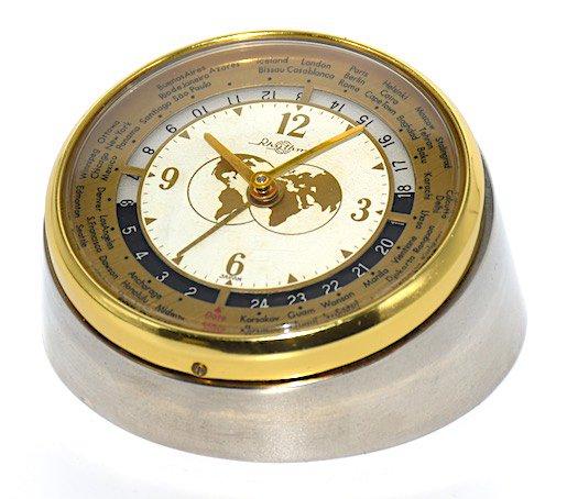 リズム時計 小型世界時計 昭和30年代【017】の画像