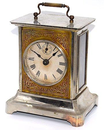 精工舎 角形時打置時計 大正時代初期〜中期頃【K025】の画像