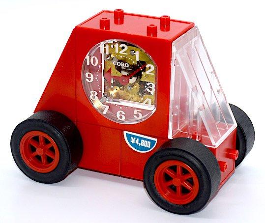 SEIKO レゴブロック型目覚時計『CORO(コロ)FE801R』 外箱・説明書付 昭和40年代【049】の画像