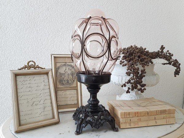 ヴェネチアンガラステープルランプの画像