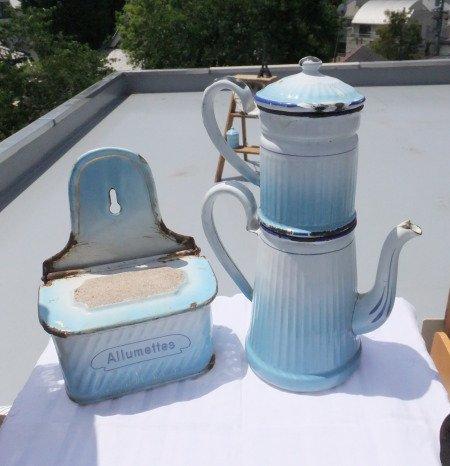 BB社 グラデーションブルー コーヒーポットの画像