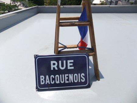 フランス ストリート サインボードの画像