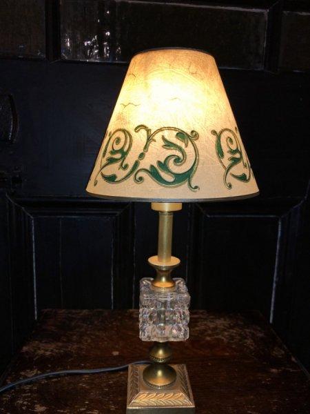 フレンチアンティークテーブルランプ Jの画像