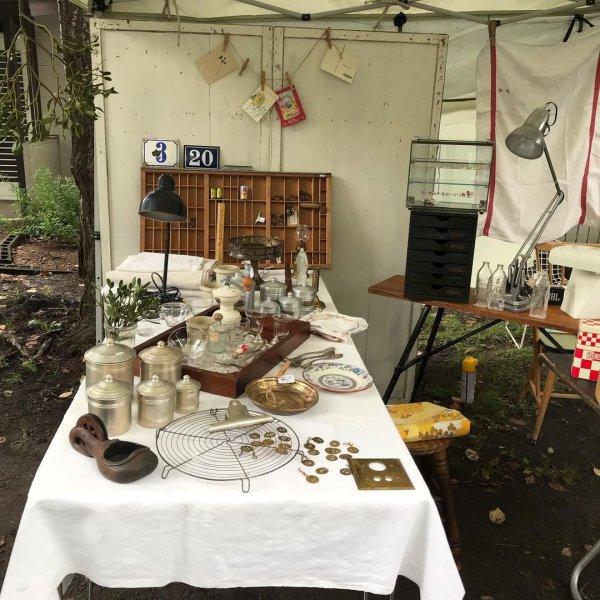 豊平神社骨董市の画像