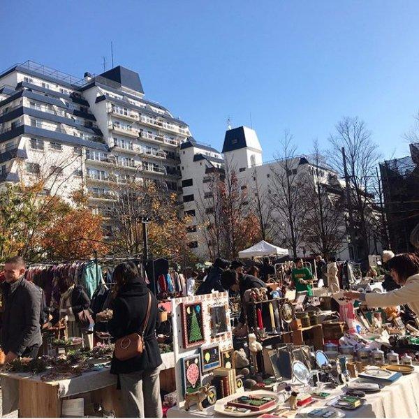 渋谷蚤の市の画像
