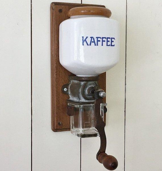 壁かけコーヒーグラインダーの画像