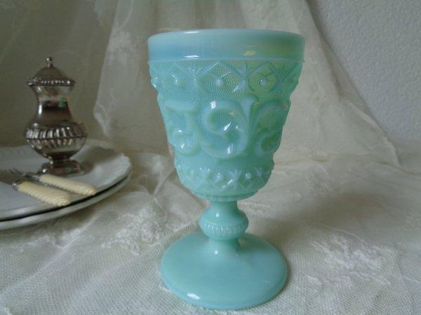 オパリンガラスワイングラスの画像
