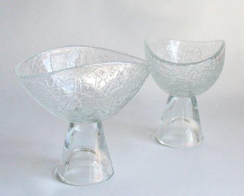 スウェーデンElme glass製デザートボウルの画像