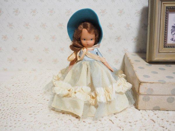 ナンシー・アン 「ストーリーブックドール」 ビスク ターコイズカラーの画像