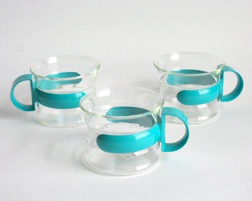 スウェーデンNilsjohan製ホルダー付グラス の画像